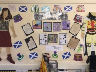 Wall of Information on the Scottish Wars of independence